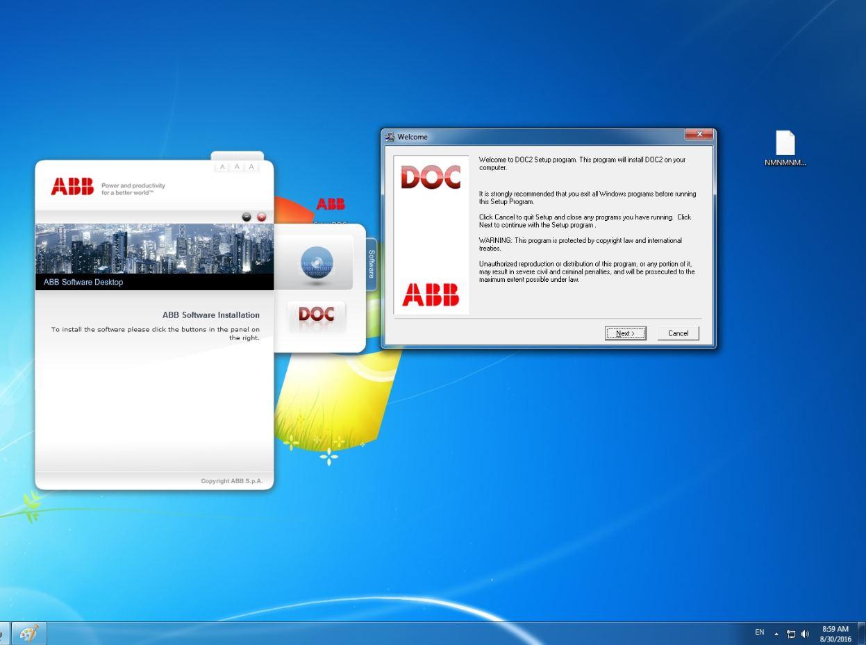 abb docwin 3 0 software